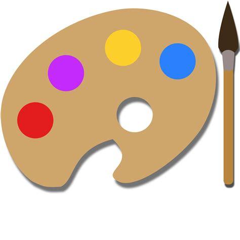 Painting Palette clipart paint palette