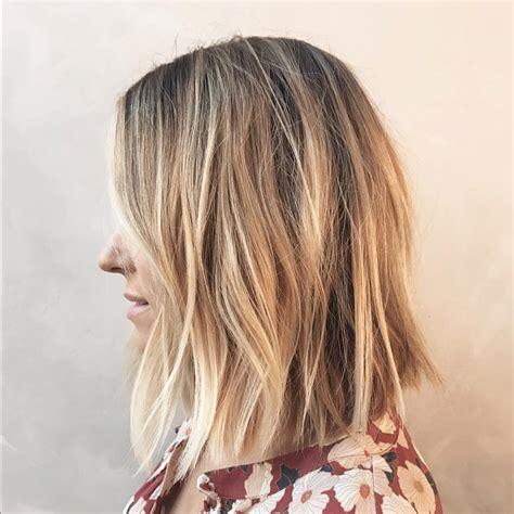 how to air dry a texturized bob lauren conrad new bob haircut photos people com