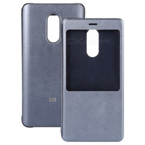 Xiaomi Redmi Note 4x Flipcover Flipcase Casing Mod Murah xiaomi flip pu cover for xiaomi redmi note 4x 3gb 32gb gray free shipping dealextreme
