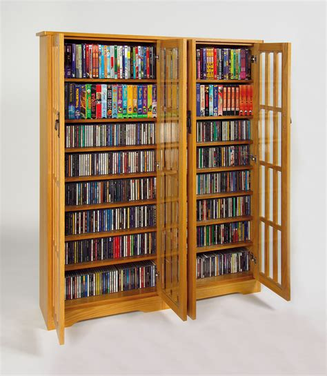 dvd media storage cabinet media storage cabinets images