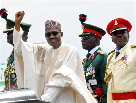 biography of president muhammadu buhari read president buhari s inauguration speech photos from