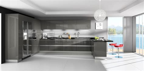 Modern Kitchen Cabinets For Sale by Lava Grey Modern Rta Cabinets