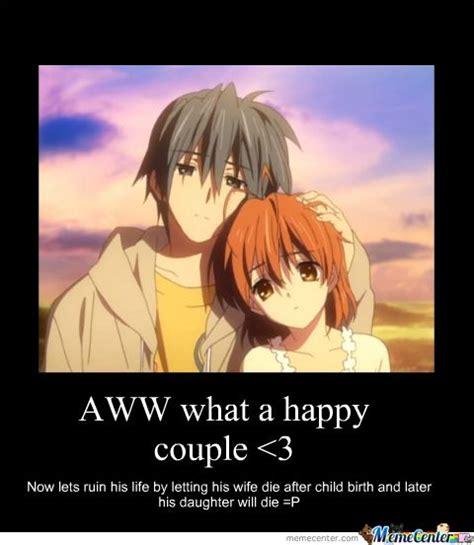 Sad Love Memes - clannad sad meme google search funny feels anime
