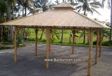 Bamboo Gazebo Wedding Gazebo Bamboo From Bali Bamboo