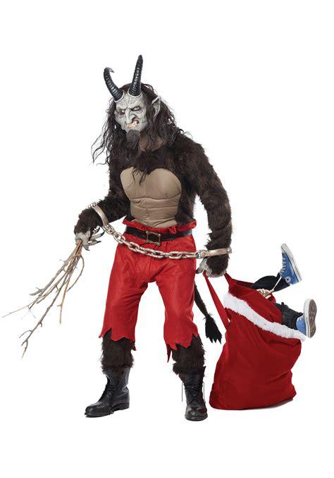 adult krus the christmas demon costume