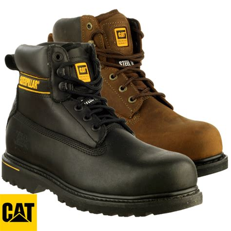 Caterpillar Holton Safety Boots cat caterpillar holton safety boots s3 holts3