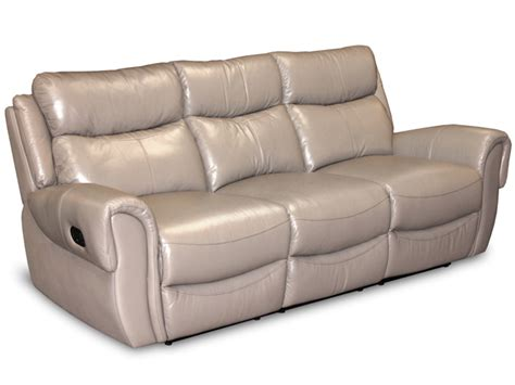beige leather reclining sofa beige leather motion group sofa bailey s furniture