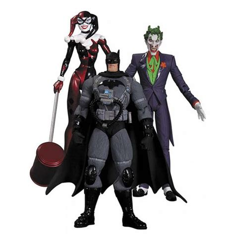 Figure Batman Set 4 batman hush joker harley quinn stealth batman figure set staractionfigures co uk