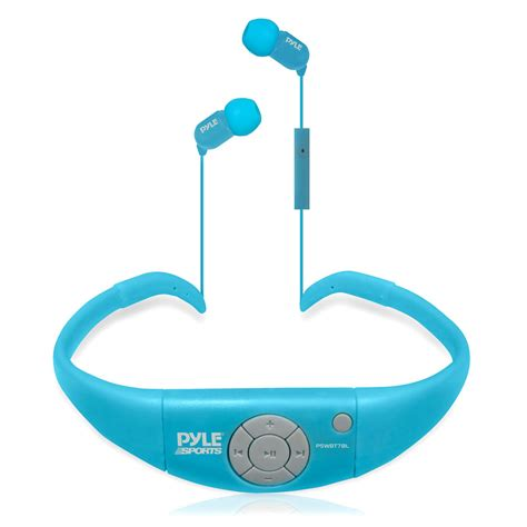 Headset Sport Bluetooth Mp3 Bluetooth pylesport pswbt7bl home and office headphones mp3 players gadgets and handheld