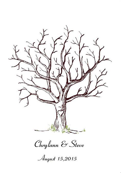 Wedding Tree by Aliexpress Buy Canvas Wedding Fingerprint Tree Guest