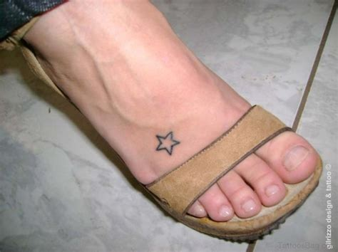 star foot tattoos designs 84 on foot