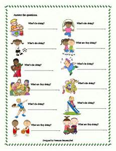 This worksheet includes the vocabulary items related to the activities