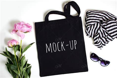 black tote bag mockup black tote bag mock up psd jpg by maddyz thehungryjpeg com