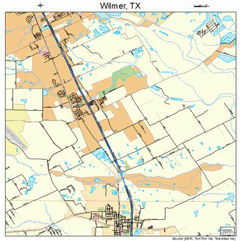 wilmer texas map wilmer texas map 4879576