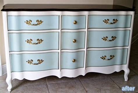 Blue And White Dresser by Feeling Blue Better After