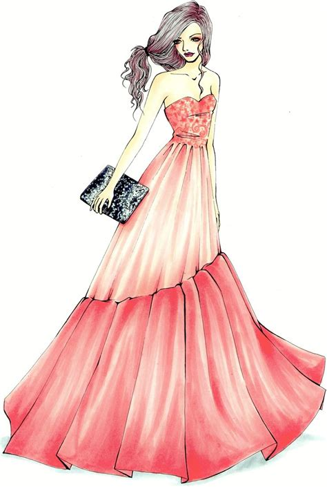 fashion illustration using markers 17 best images about copic on coloring oliver cheshire and copic colors