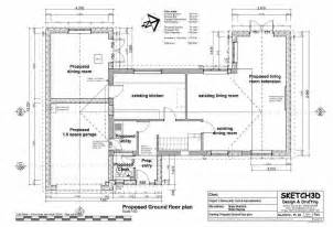 Extension Floor Plans by Example House Extension Plans Design 3