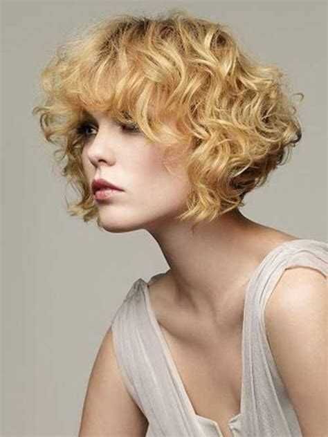 permed short bob hairstyles 15 curly perms for short hair short hairstyles 2017