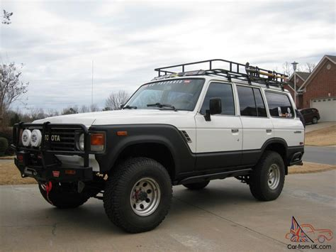 land cruiser off road 1984 toyota land cruiser restored expedition off road ready