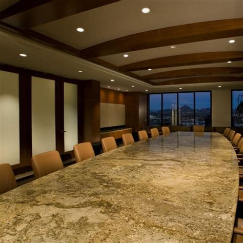 Marble Boardroom Table This Is A Granite One Desert Amarillo Conference Room Table Katheryn Jones