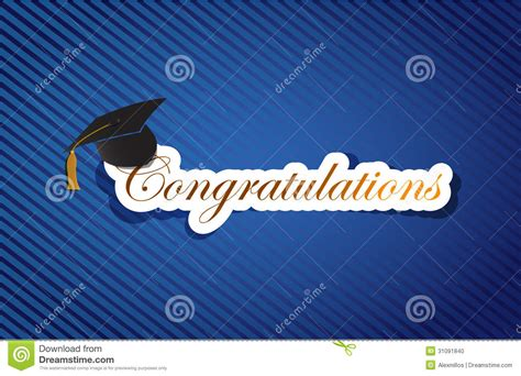 congratulations background blue