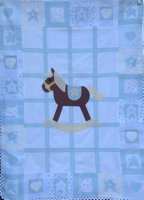 copri piumone copri piumone quot cavallo a dondolo quot bambini per la nanna