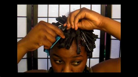 natural hair tutorial making your roller set youtube natural hair roller set tutorial youtube