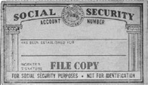 Free Ssn Lookup Social Security Account Number Has Been Established For Workers Signature File Copy
