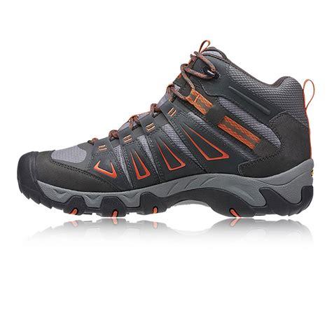 waterproof walking shoes keen oakridge mid waterproof walking shoes aw17 40