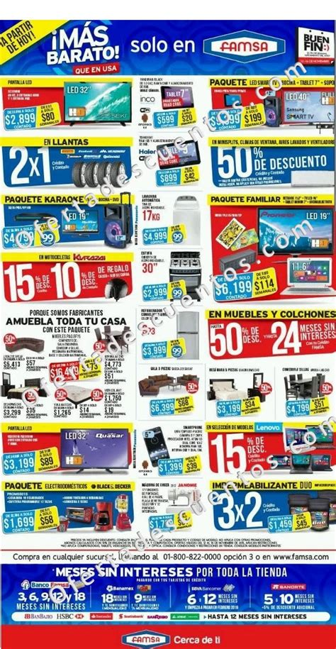 coppel folleto de ofertas del buen fin 2015 promocion famsa folleto de promociones del buen fin 2015 oferta