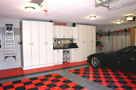 corvette garage traditional garage and shed