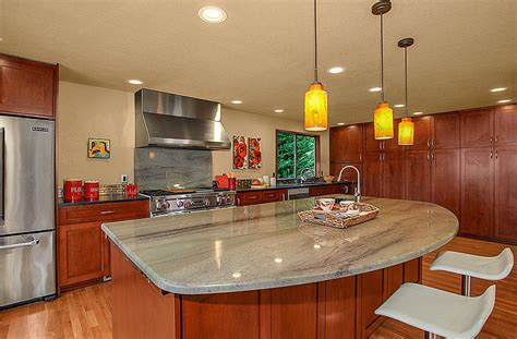kitchen with cherry cabinets 23 cherry wood kitchens cabinet designs ideas