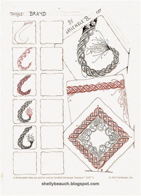 zentangle rope pattern http shellybeauch blogspot de p micheles tangles html
