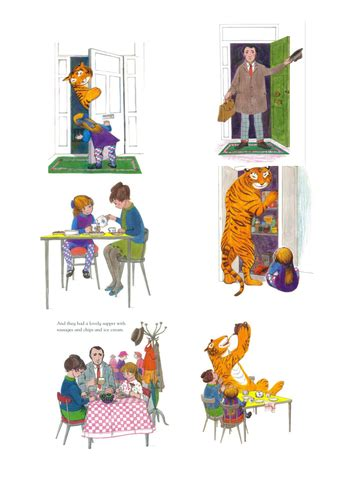 tes new year story resources sequencing the tiger who came to tea by stefanietuesday