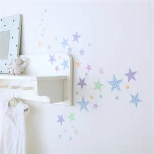 Wall Star Stickers Childrens Star Wall Stickers By Kidscapes Wall Stickers