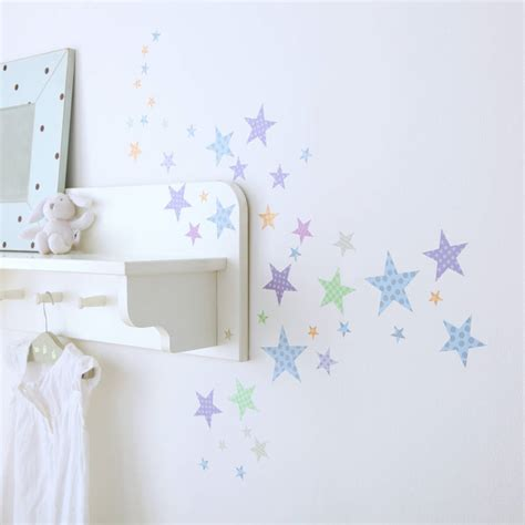 childrens star wall stickers by kidscapes