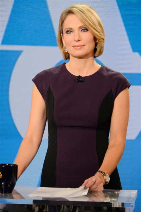 did amy robach lide her hair good morning america host amy robach apologizes for saying