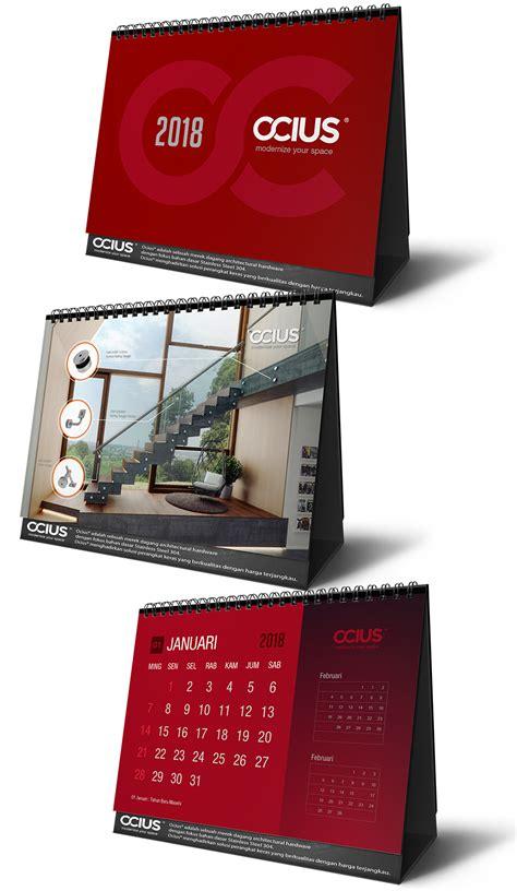 desain kalender meja 2018 sribu desain kalender desain kalendar meja ocius 2018