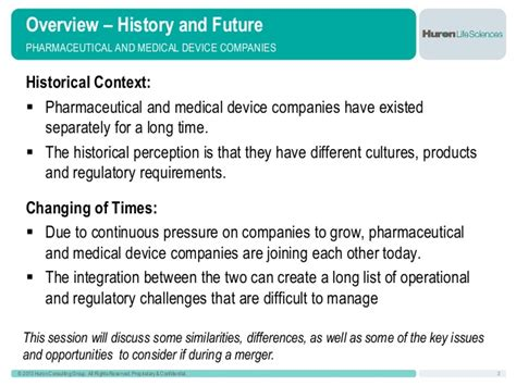 Huron Consulting Mba Opportunity by Drugs And Devices Do Mix Challenges And Opportunities For