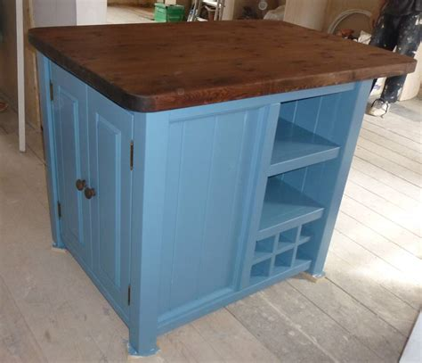 kitchen with small island the plate rack co hand crafted bespoke kitchen furniture