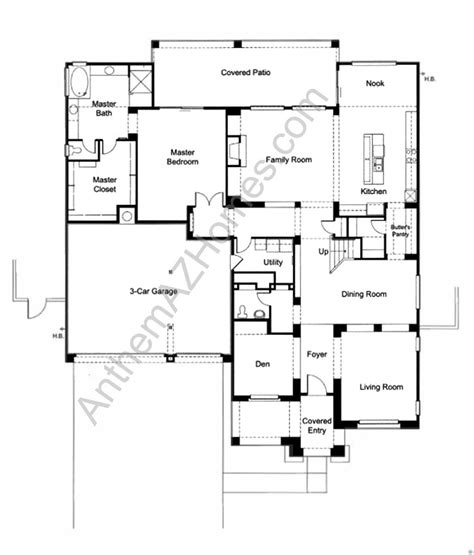 anthem parkside floor plans anthem parkside floor plans