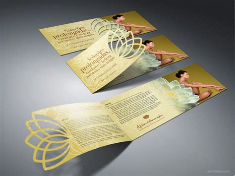 Brochure Design Ideas by 30 Unique And Beautiful Exles Of Brochure Design