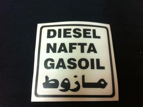 Aufkleber Auto Diesel by Harry S Land Rover Parts Diesel Tankdeckel Aufkleber