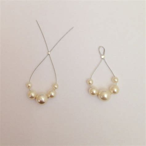 how to make pearl jewelry beaded teardrop earrings 183 how to make a pair of pearl