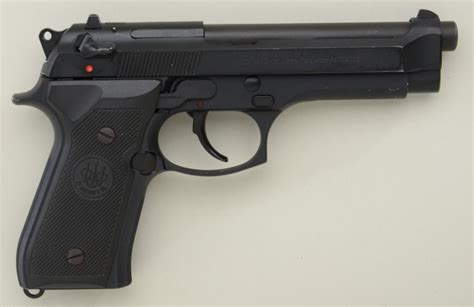 Korek Pistol Baretta Black beretta model 92fs da semi auto pistol 9mm cal 5