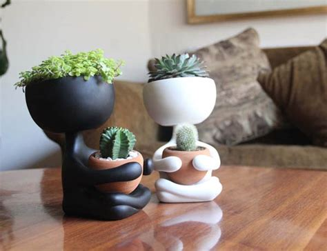 unique home decor items robert planta most adorable plant pot design swan