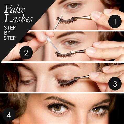 How To Wear False Eyelashes by Tips To Wear False Lashes Step By Step Nationtrendz