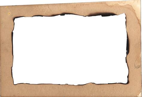 Paper Frame - 4 burn paper frame png transparent onlygfx