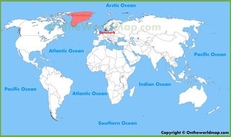 denmark on map denmark location on the world map