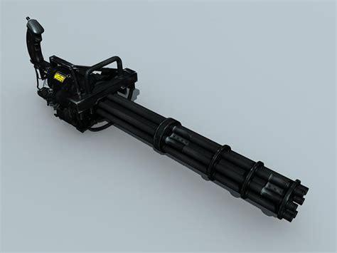 m134 gatling minigun 3d model buy m134 gatling minigun 3d model flatpyramid